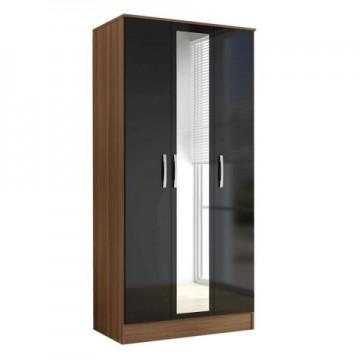 Sofia 3 door wardrobe with mirror