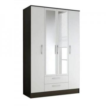 Sofia 4 door combi wardrobe with mirror