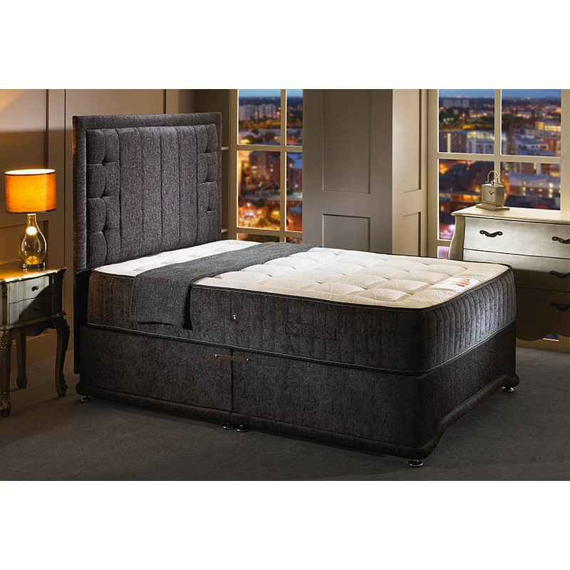 Kensington divan bed furniture market nottingham for Divan king bed