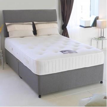 Double divan bed - premium