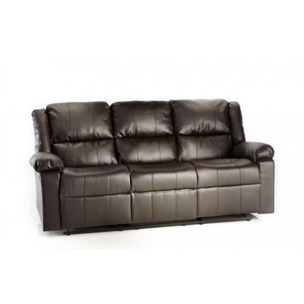 Leather Sofa Wholesalers Uk: Milan Leather Recliner Sofa 3+2 Suite
