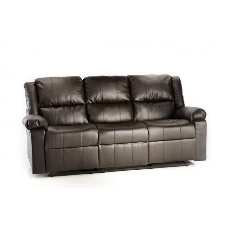Milan Leather Recliner Sofa 3 2 Suite Furniture Market